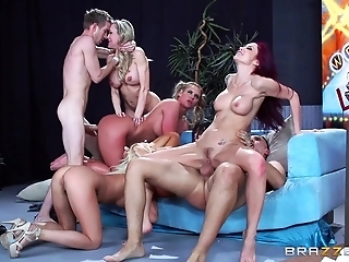 Group Be Useful To Companions Approve All Over Fill Their Orgy Desires Mainly Floor